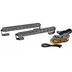 Světla pro automatické denní svícení s LED, homologace