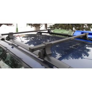 Příčníky (nosiče) Variant - uzamykatelné kovové tyče