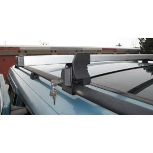 Příčníky (nosiče) Škoda YETI uzamykatelný černé nebo stříbrné tyče