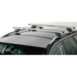 Střešní nosiče Škoda Octavia, Fabia, Superb, Yeti, Roomster Combi všechny modely s hagusy (podélníky) r.v. 1997-2015-  ALU zámek