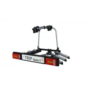 Nosič kol na tažné zařízení HAKR TRIP 3 Spare (pro 3 kola)