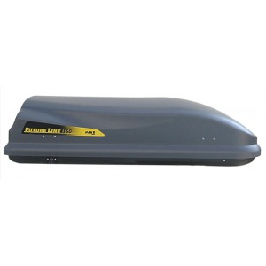 Střešní box Hakr Future Line 350 šedý, šedý lesk - Doprava zdarma
