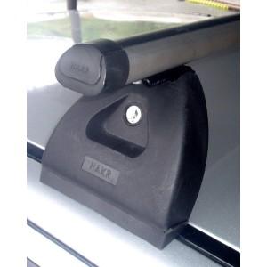 Střešní nosič Hakr Octavia I, Fabia I hatchback + sedan se speciálním úchytem (do přípravy) Alu hliníkový !Doprava zdarma!
