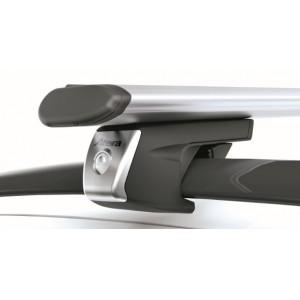 Univerzální příčný střešní nosič Atera Signo RT alu aero profil zamykatelný