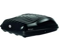 Střešní box MAC 400 černý karbon oboustranné 400 litrů