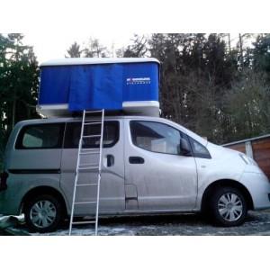 Autostan spací nástavba na střechu automobilu Maggiolina AIRLANDER MEDIUM 2 + 1